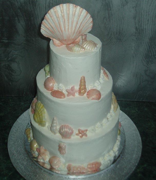 Cake With Edible Pictures : Maui Wedding Cake Photos